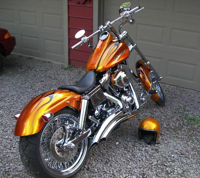 THE PAINT CHOP * Machine Gun Preacher Bike