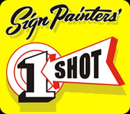 1 Shot Paint for Sign Painting and Pinstriping